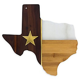 Totally Bamboo Rock & Branch 14-Inch Texas Serving Board