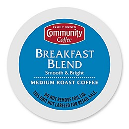18-Count Community Coffee® Breakfast Blend for Single Serve Coffee Makers