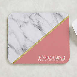 Marble Chic Mouse Pad
