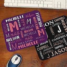 Notable Name Mouse Pad