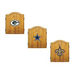 NFL Dartboard and Cabinet Set Collection