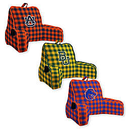 Collegiate Buffalo Check Backrest Pillow Collection