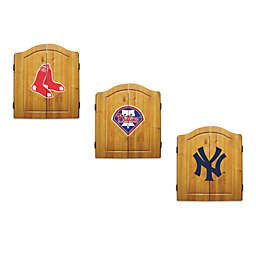 MLB Dartboard and Cabinet Set Collection