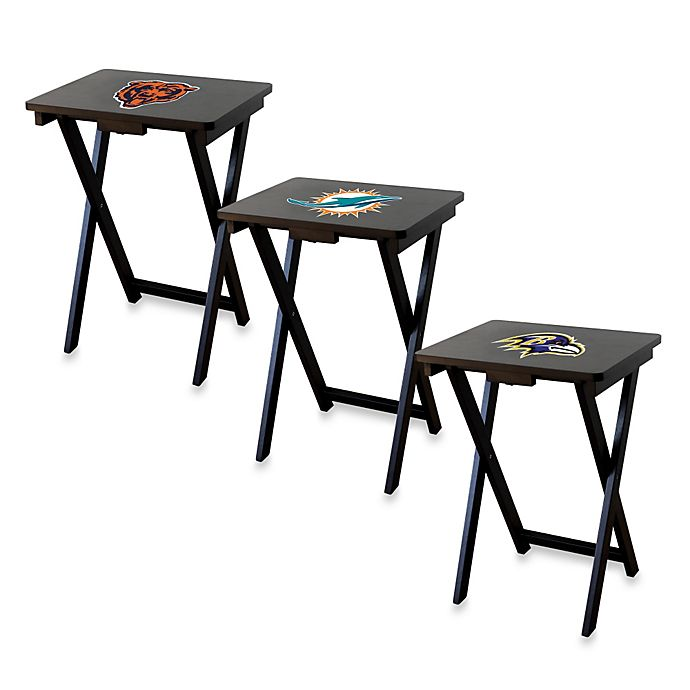 Nfl Tv Tray With Stand Set Of 4