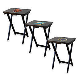 NFL TV Tray with Stand Collection (Set of 4)