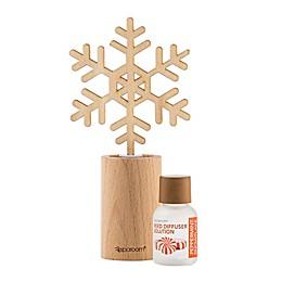 SpaRoom Peppermint Snowflake Mini Reed Diffuser