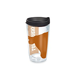 Tervis® Colossal Wrap University of Texas Longhorns 16-Ounce Tumbler with Black Lid