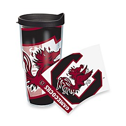 Tervis® South Carolina Gamecocks 24-Ounce Wrap Tumbler with Black Lid