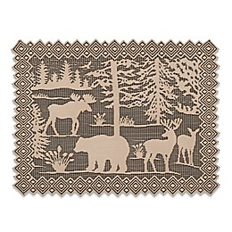 Heritage Lace Lodge Hollow Lace Placemats in Natural (Set of 4)