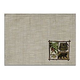 Heritage Lace Lodge Hollow Placemats in Natural (Set of 4)