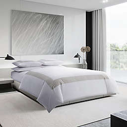 Vera Wang® Sateen Band Duvet Cover Set