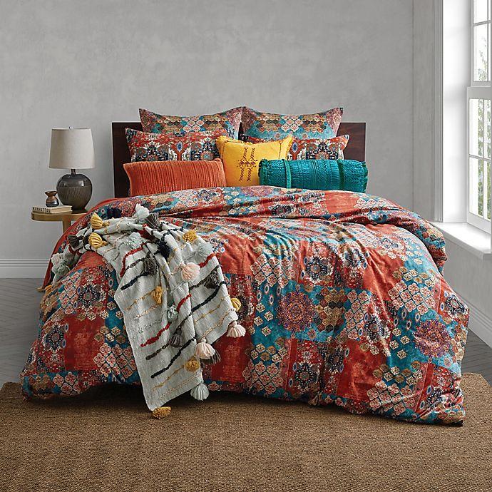 Alternate image 1 for Global Caravan Moroccon Tile Duvet Cover