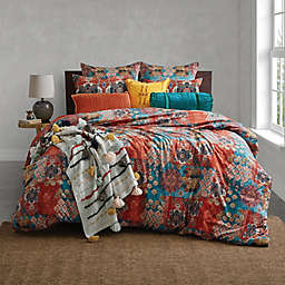 Global Caravan Moroccon Tile Duvet Cover