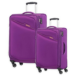American Tourister® Bayview Spinner Checked Luggage