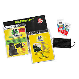 Seat Sitters™ Airplane Seat Cover Set in Black