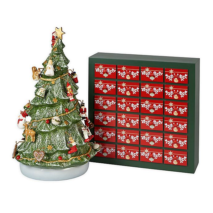 Bed Bath And Beyond Christmas Eve Hours.Villeroy Boch Christmas Memory 26 Piece Advent Calendar