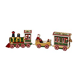 Villeroy & Boch Christmas Memory 3-Piece North Pole Express Train Figurine Set