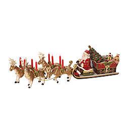 Villeroy & Boch Christmas Memory Musical Santa's Sleigh Ride Figurine