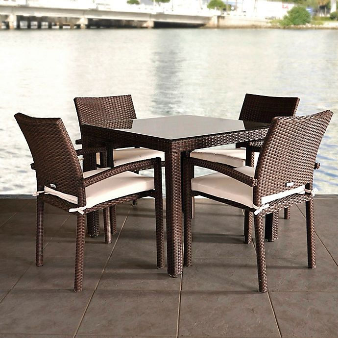 Alternate image 1 for Atlantic Liberty 5-Piece Patio Dining Set