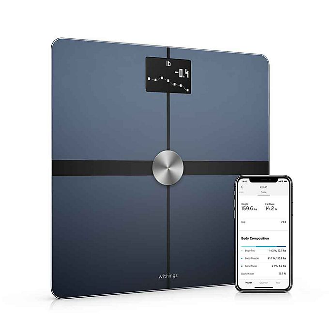 Alternate image 1 for Withings Body+  Body Composition Wi-Fi Smart Scale with Smartphone App