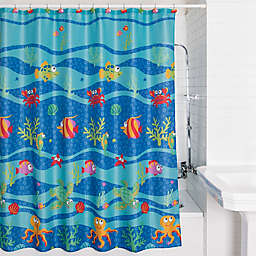 Allure Home Creation Fish Tails Shower Curtain