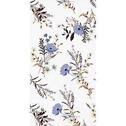 Purple Floral 32-Count Paper Guest Towels