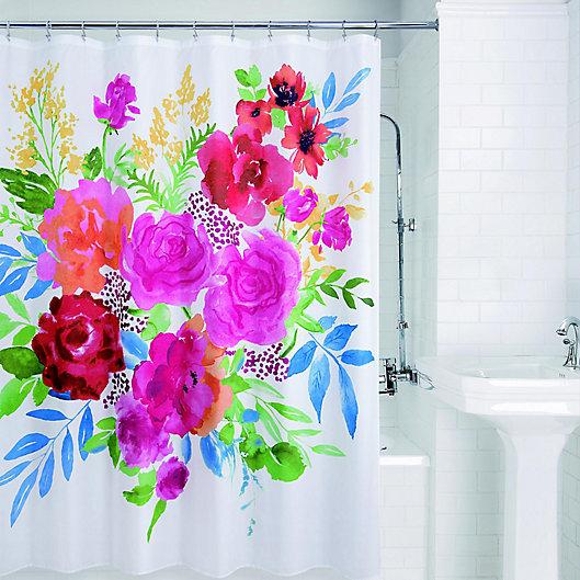 Alternate image 1 for Floral Burst Shower Curtain