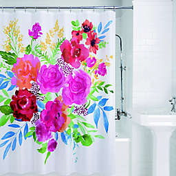 Floral Burst Shower Curtain
