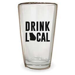 Wild Eye Designs® Drink Local Georgia Pint Glass