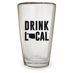 Wild Eye Designs® Drink Local Oklahoma Pint Glass