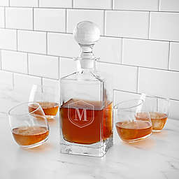 Cathy's Concepts 5-Piece Tipsy Whiskey Decanter Set