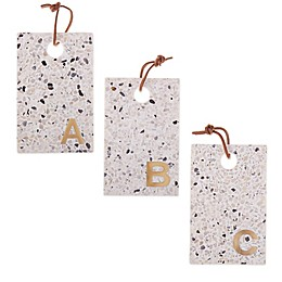 Artisanal Kitchen Supply® Terrazzo Monogram Cheese Board