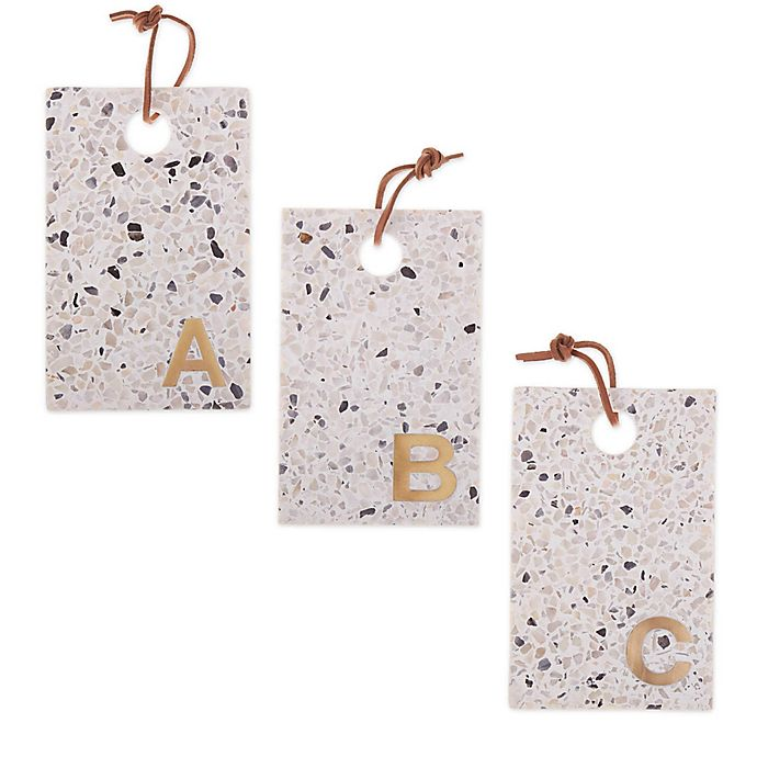 Alternate image 1 for Artisanal Kitchen Supply® Terrazzo Monogram Cheese Board