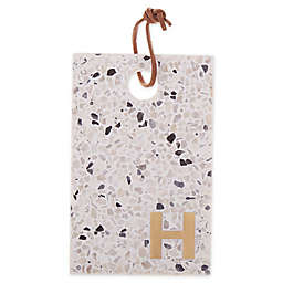 "Artisanal Kitchen Supply® Terrazzo Monogram Letter ""H"" Cheese Board"