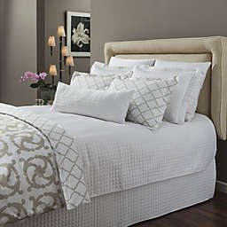 Downtown Company Urban Quilted Cotton Coverlet Set in White