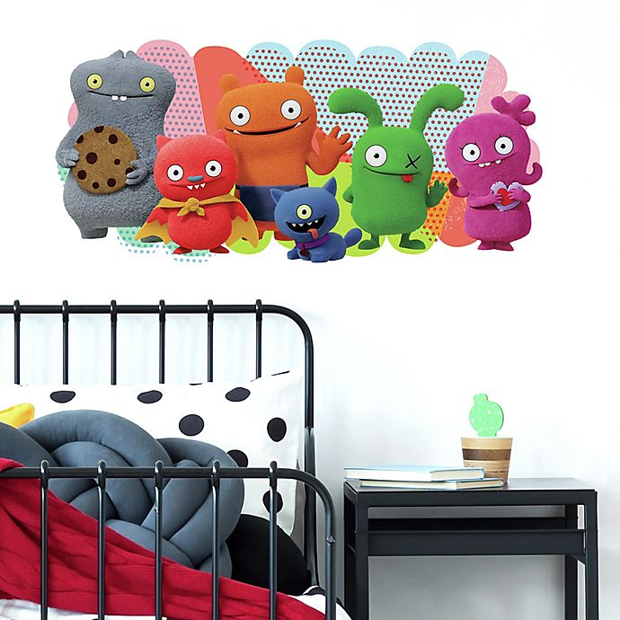 Tremendous Roommates Ugly Dolls Peel Stick Giant Wall Decal Bed Creativecarmelina Interior Chair Design Creativecarmelinacom