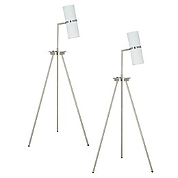 Cresswell Lighting Tripod LED Floor Lamp Collection