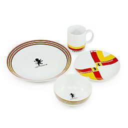 Harry Potter™ Houses of Hogwarts Gryffindor 16-Piece Porcelain Dinnerware Set