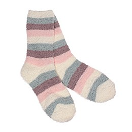 Stripe Butter Size 9-11 Women's Socks in Ivy