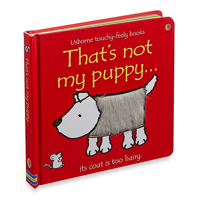 Alternate image 1 for Usborne That's Not My Puppy Touchy-Feely Board Book