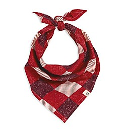 Burt's Bees Baby® Abstract Argyle Organic Cotton Dog Bandana in Red/Ivory