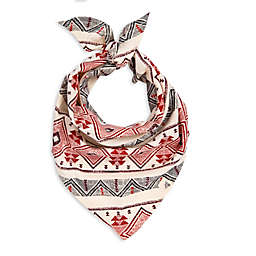 Burt's Bees Baby® Aspen Cabin Dog Bandana in Red/Ivory (Set of 2)