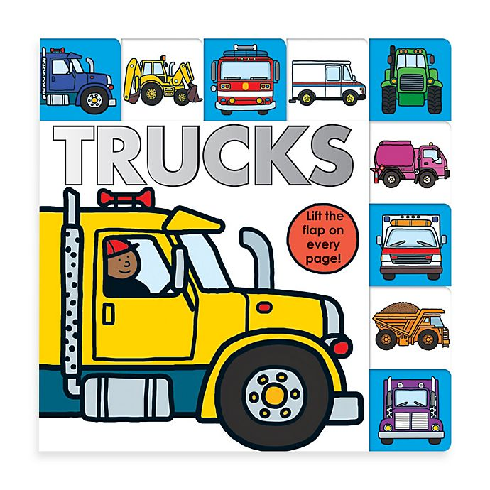 Alternate image 1 for LIft-the-Flap Tab: Trucks Board Book