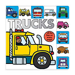 LIft-the-Flap Tab: Trucks Board Book