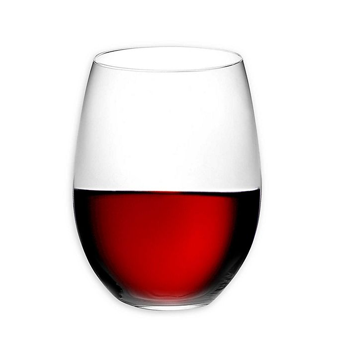 Alternate image 1 for Riedel® O Cabernet/Merlot Stemless Wine Glasses (Set of 2)