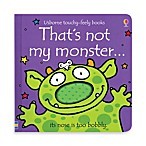 Usborne That's Not My Monster Touchy-Feely Board Book