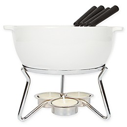 Boska® 9-Piece Fondue Party Set in White
