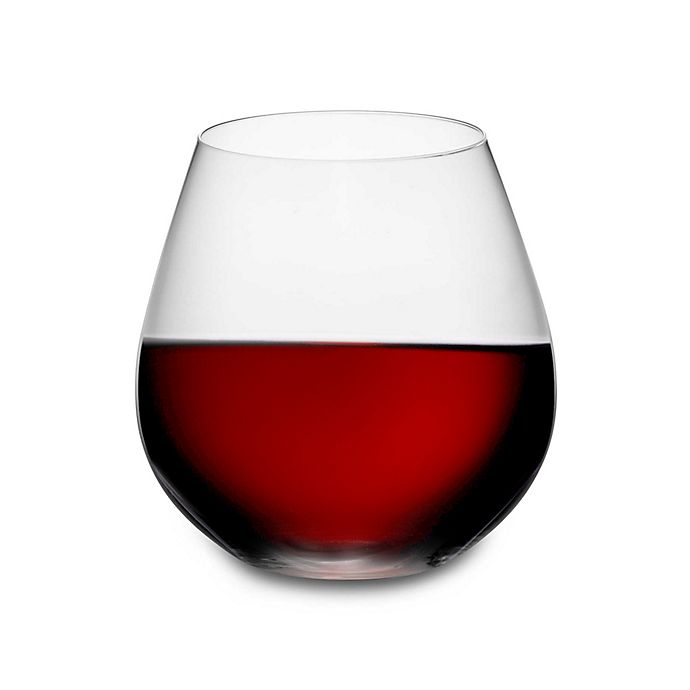 03a7e5332f3 Riedel® O Pinot/Nebbiolo Stemless Wine Glasses (Set of 2) | Bed Bath ...