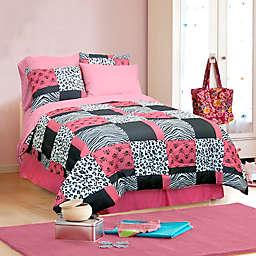 Veratex Pink Skulls Comforter Set