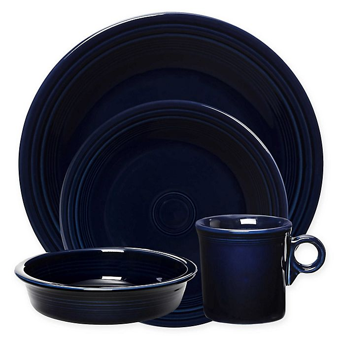Alternate image 1 for Fiesta® Dinnerware Collection in Cobalt Blue